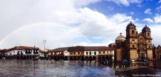 Cusco Plaza de Armas Noelia