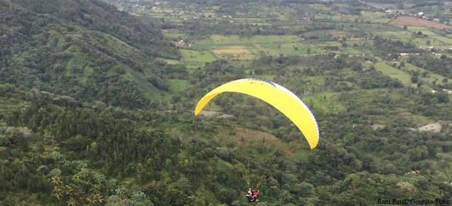 Dominican Republic Paragliding Rani Patel