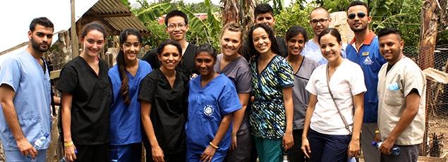 volunteers around the world